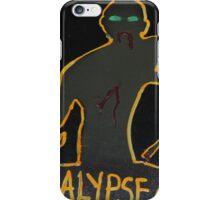 zzzzzzombies! apocalypse auto iPhone Case/Skin
