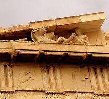 Parthenon - Detail by Camilla