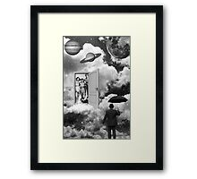 Black & White Collection -- Heaven's Door Framed Print
