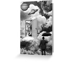 Black & White Collection -- Heaven's Door Greeting Card