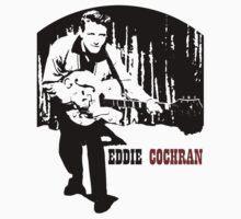 Eddie Cochran by bugeyes