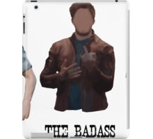 chris pratt - labels iPad Case/Skin