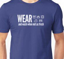 Washing instructions Unisex T-Shirt