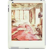 The Tailor of Gloucester Beatrix Potter 1903 0081 Cat and Tailor at Work iPad Case/Skin