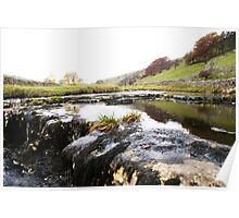 The River Wharfe, Yorkshire Poster