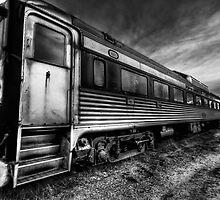 Cape Cod Rail Car by Trevor Murphy