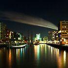 Speicherstadt by night by Rob Hawkins