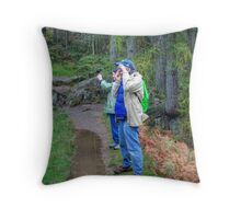 Dam Photographers Throw Pillow