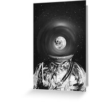 Black & White Collection -- Universe Creator Greeting Card