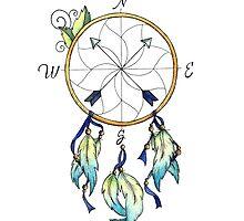 Dream Compass Minto by Ashley Garcia