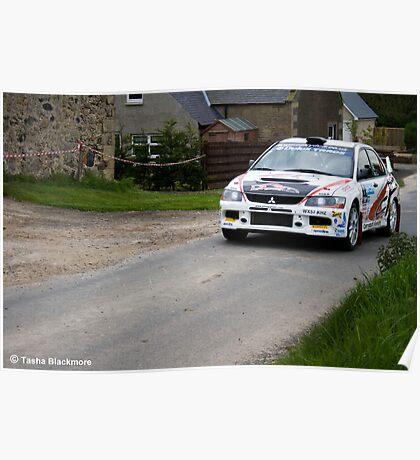 Jim Clark Rally 10 Poster