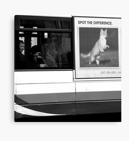 Edinburgh - Spot the difference Canvas Print