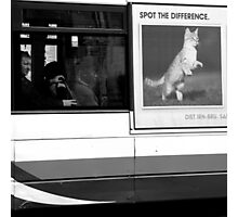 Edinburgh - Spot the difference Photographic Print