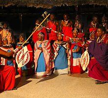 Masai ritual by Atanas Bozhikov Nasko