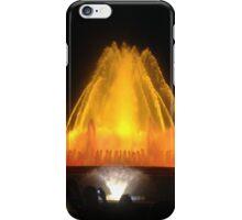 Beautiful spainish fountain display iPhone Case/Skin