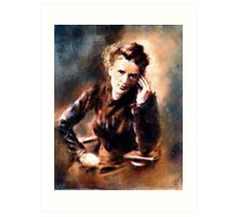 Portrait of Marie Curie Art Print