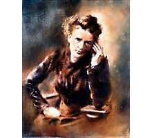 Portrait of Marie Curie Photographic Print