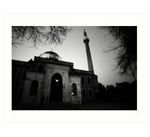 Early Morning Prayer - Mosque in Istanbul Art Print