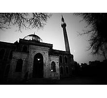 Early Morning Prayer - Mosque in Istanbul Photographic Print