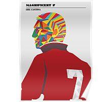 Magnificent seven - Eric Cantona Poster