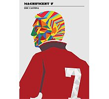 Magnificent seven - Eric Cantona Photographic Print