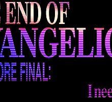 End of Evangelion Glitch by bturley