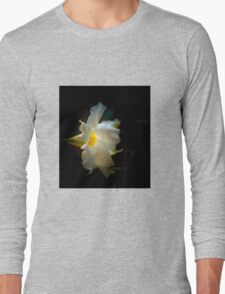 SINGLE TRANSPARENT FLOWER Long Sleeve T-Shirt