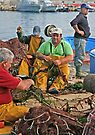 Fishermen in Gallipoli by Debbie Pinard