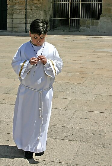 Confirmation Day - Lecce italy by Debbie Pinard
