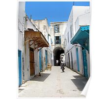 A street in Tunis Poster