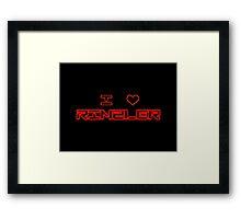 I ♥ Rinzler Framed Print