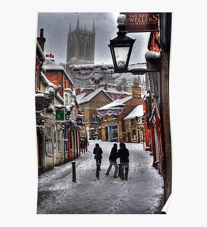 A Winter Scene Poster