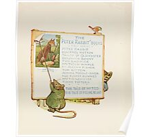 Cecily Parsley's Nursery Rhymes Beatrix Potter 1922 0062 Peter Rabbit Books Advert Poster