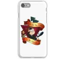"Gravity Falls- No ""Refunds"" iPhone Case/Skin"