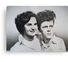 Jean & Jimmy Metal Print