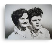 Jean & Jimmy Canvas Print