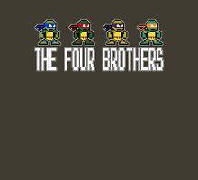 8-Bit TMNT Four Brothers T-Shirt