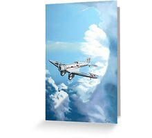 Texaco Sky Chief Greeting Card