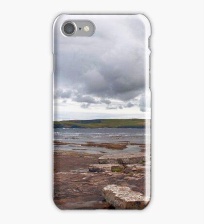 Kilkee Panorama at Loop Head Peninsula iPhone Case/Skin