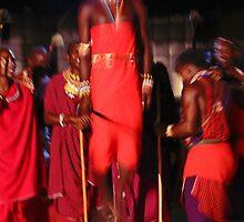 Samburu dancer, KENYA by Atanas Bozhikov Nasko