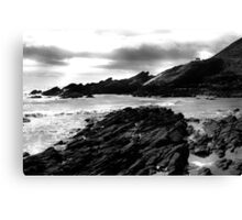 Collieston Beach, Aberdeenshire Canvas Print