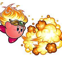kirby fire power by xoen