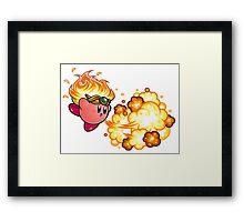 kirby fire power Framed Print