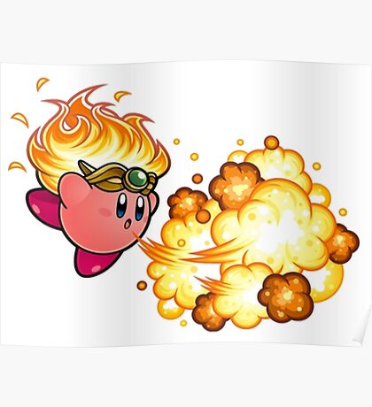 kirby fire power Poster
