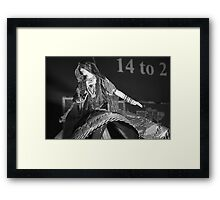 Ghoomer Dance of Rajasthan Framed Print