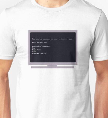 Geek Tee Me: Text Adventure Win Unisex T-Shirt