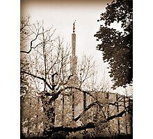 Ogden LDS Temple Photographic Print