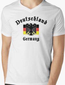 Deutschland Germany Mens V-Neck T-Shirt