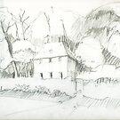 Goethe - Gardenhouse by HannaAschenbach