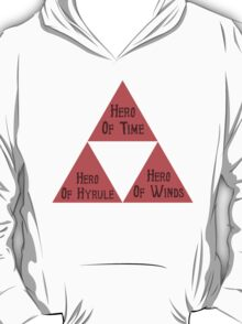 The Many Faces Of Our Hero T-Shirt